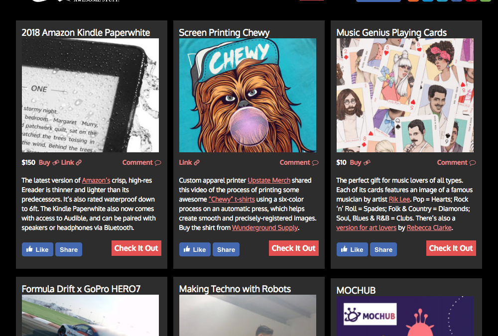 We got featured on our Favorite Website THE AWESOMER!